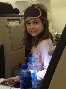 Princess Imagination loved the royal treatment in Business class (Thank you expat contract!)