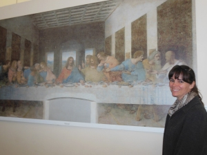 I finally went to see the Last Supper (Genius!)