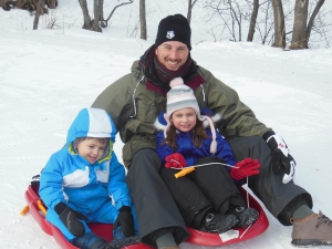Reason #417 that kids are fun: you get to go sledding again!