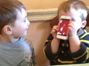 The I-phone: the miracle restaurant entertainment.